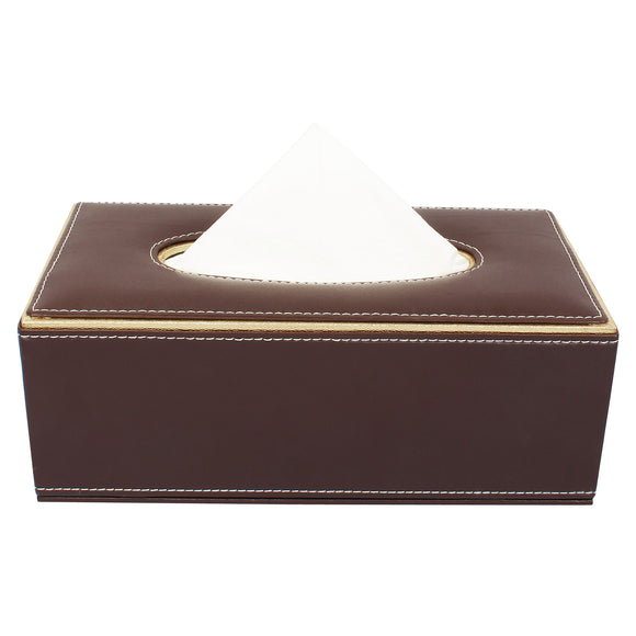 Brown Tissue Box
