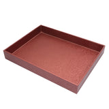 Cherry Leather Tray