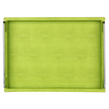 Green Leather tray