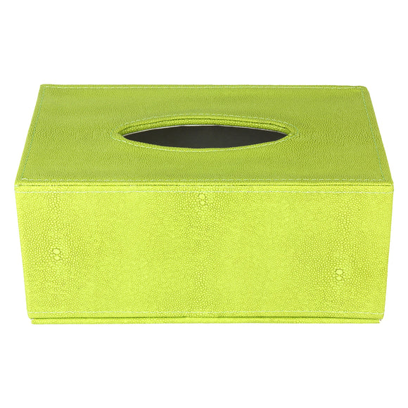 Green Tissue Box