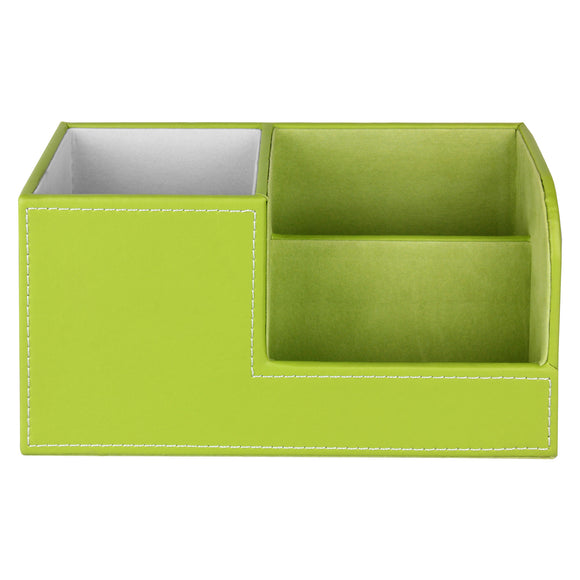 Green Desk Organizer / Pen Holder