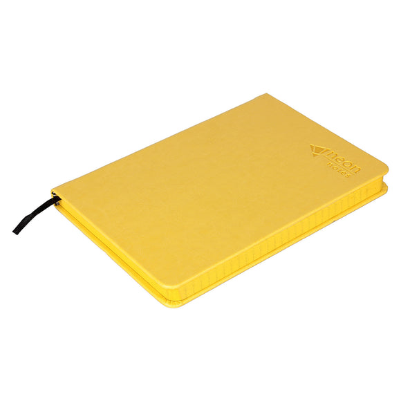 Yellow Leather Notebook