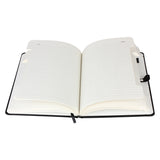 A5 notebook with pen holder
