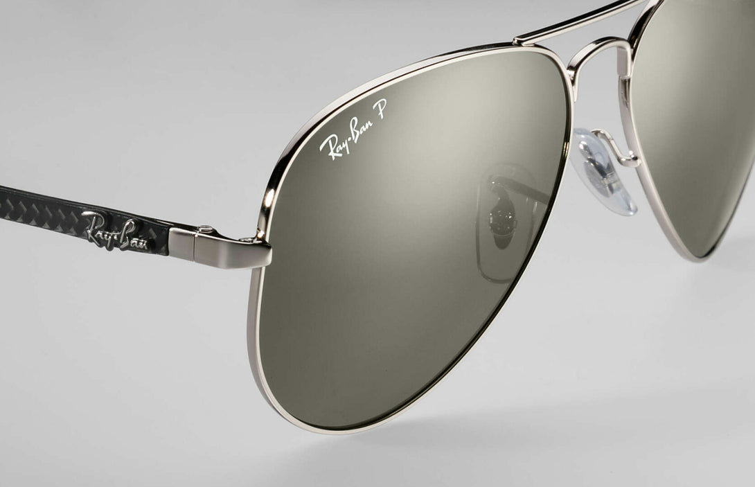 Carbon Aviator Rb8317 Ch 003 5j Chromance New Royals