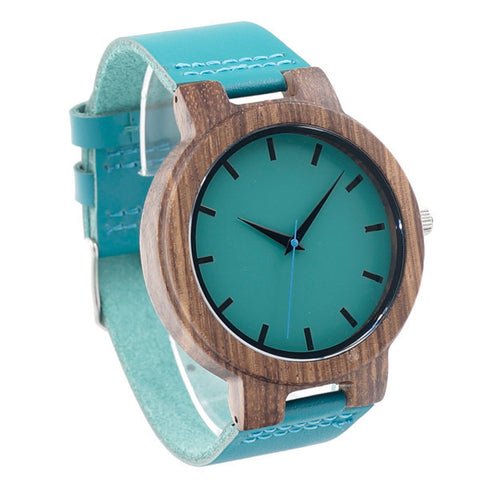 Japanese Bamboo Wood Watch