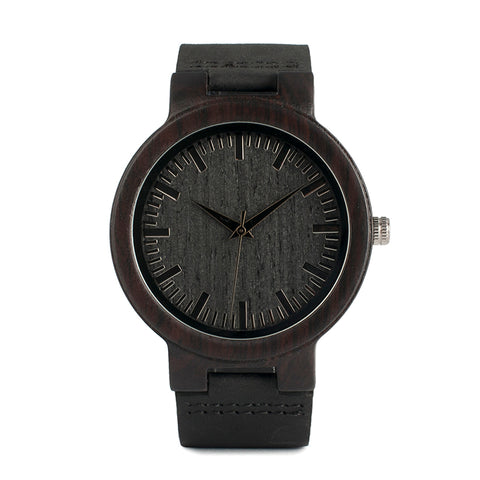 Genuine Leather Band Japan Movement Watch