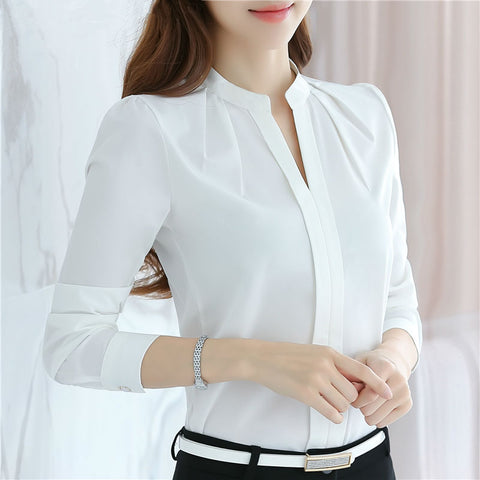 V-Neck Women Shirt