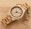 Bamboo Wooden Watch for Men