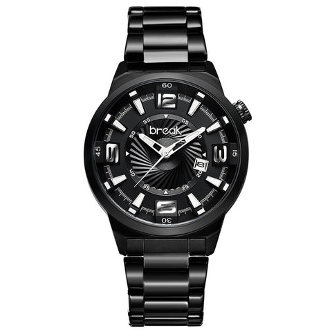 Creative Luminous Stainless Steel Mens Watch