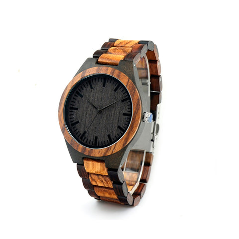 Bamboo Wood Case Men Watch
