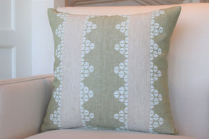 "Garden Paths 22"" SQ Pillow"