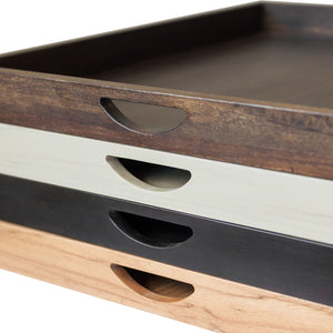 Wood Tray, Espresso Finish