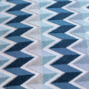 "Shades Of Blue 20"" Square"