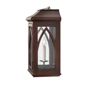 Edinburgh Lantern Sconce, Medium (Stained)