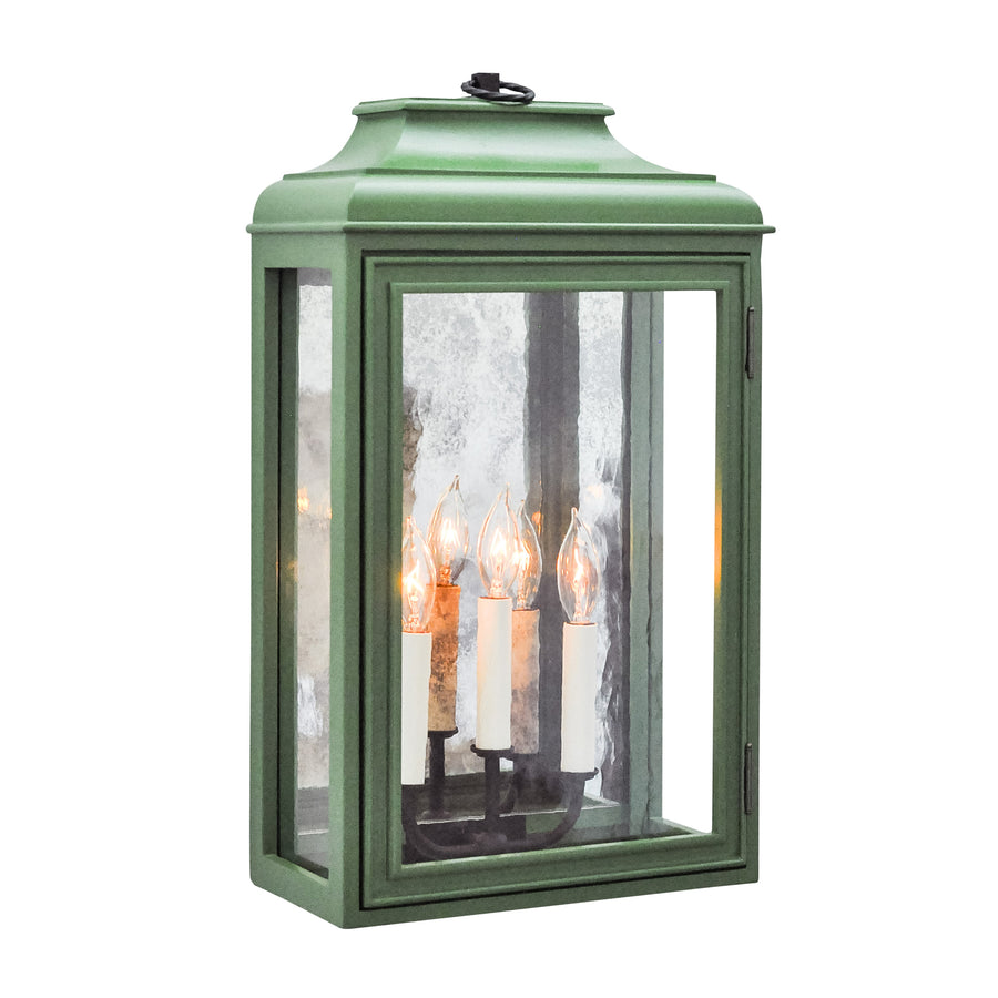 Luytens Low Profile Lantern with Mirror, Estate