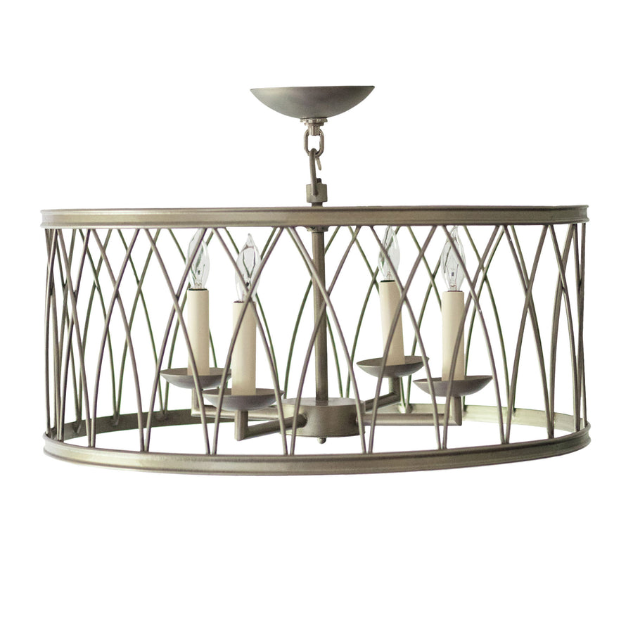 Montparnasse Round MD Pendant 4 light
