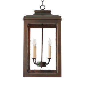 Lutyens Hanging Lantern, Large (Stained)