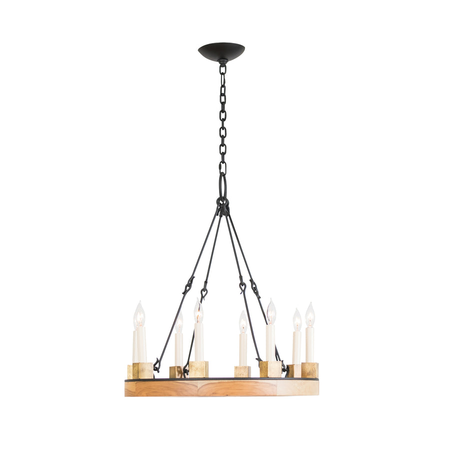 Beckett Ring Chandelier, Small, 8-Light