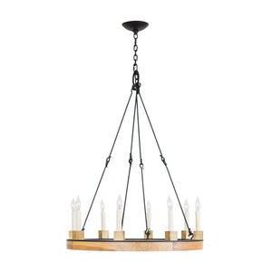 Beckett Ring Chandelier, Large, 12-light