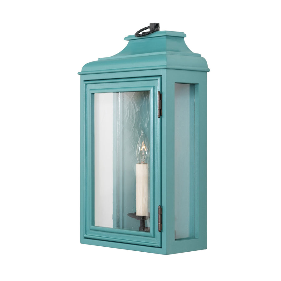 Lutyens Low Profile Lantern Sconce, Medium, 1-Light (Painted)