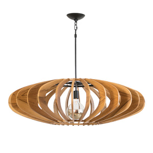 Astral II Chandelier, Large (Stained)