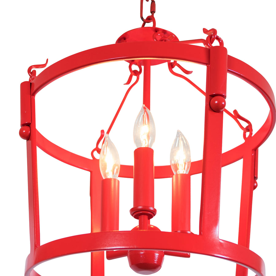 Marais Pendant, Small, Semi-Flush