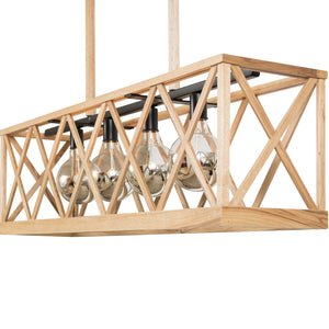 Napa Gate Chandelier, Medium (Stained)