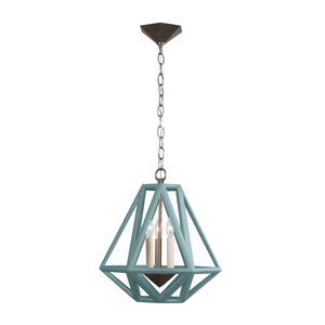 Metrique Pendant, Medium (Stained)