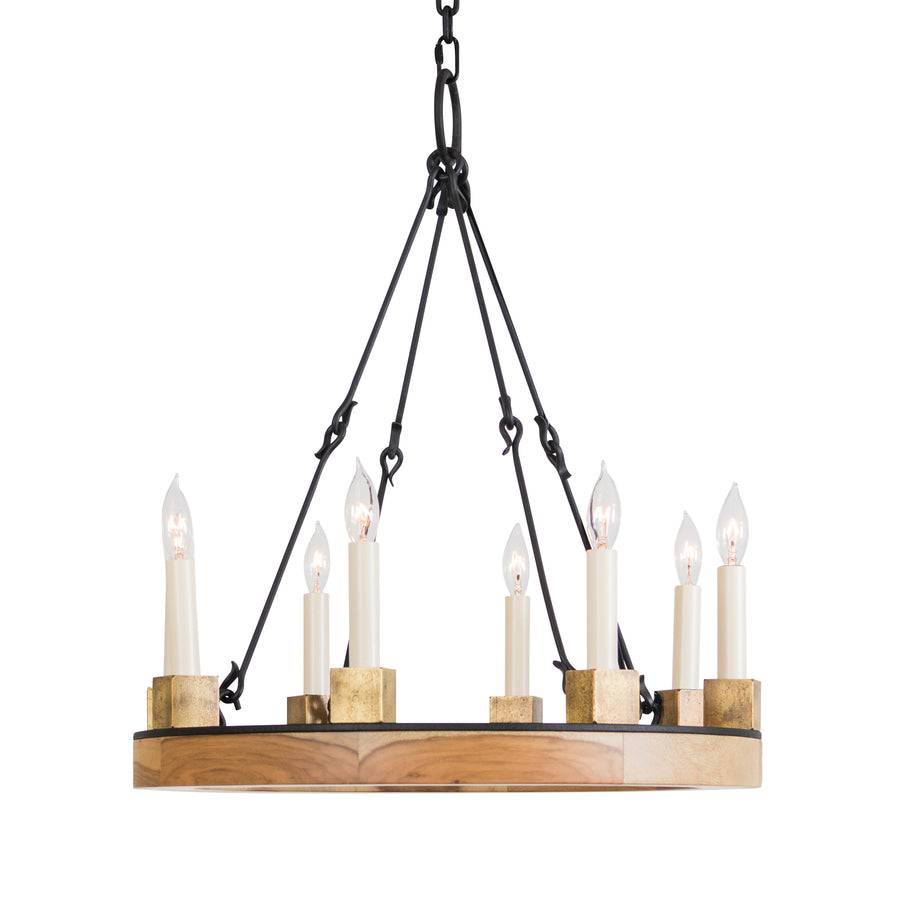 Beckett Ring Chandelier, Large 12-light