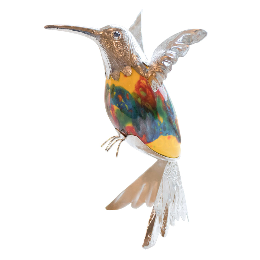 Blooming Garden Hummingbird, Large