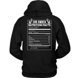 Gun Owner Nutrition Facts T-shirt-Fresh Steals