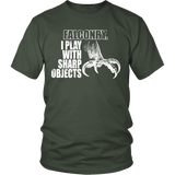 Falconry- I Play with Sharp Objects T-shirt-Fresh Steals