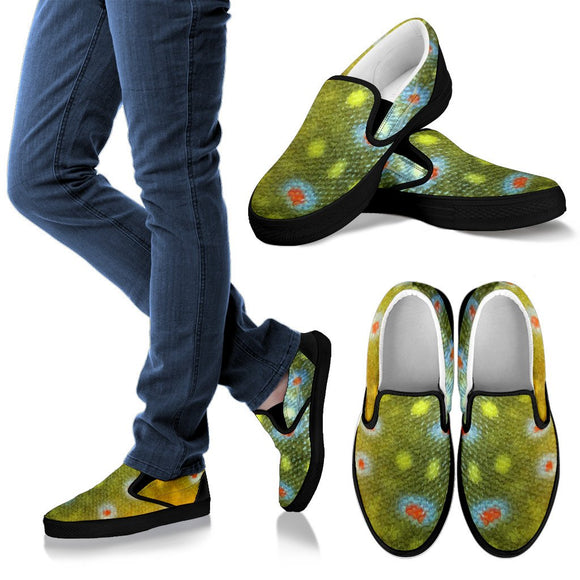 Men's Brook Trout Slip-On Shoes Slip on shoes-Fresh Steals