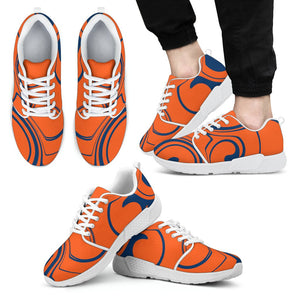 Men's Syracuse Fan Athletic Sneakers Athletic sneakers-Fresh Steals