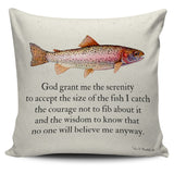 Fisherman's Prayer Pillow Covers -Fresh Steals