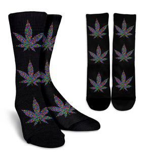 Cannabis Leaf Socks socks-Fresh Steals
