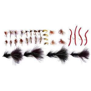 Fly Fishing Flies- 32 piece mixed trout flies Fishing Lures-Fresh Steals