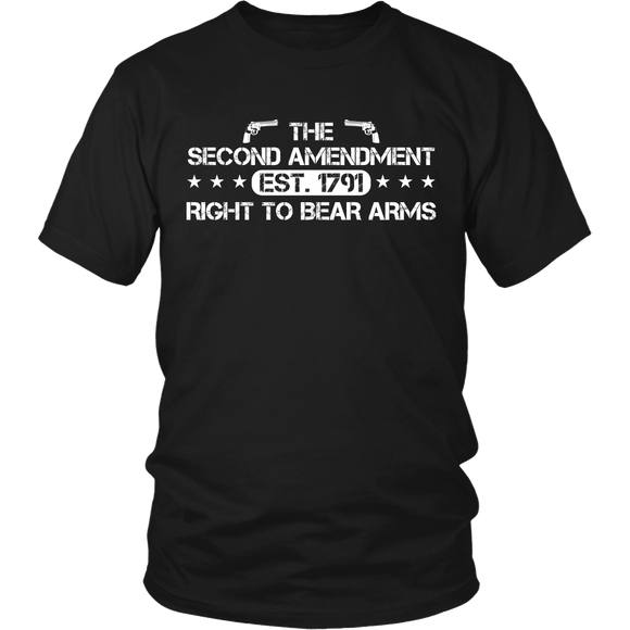 The Second Amendment T-shirt-Fresh Steals