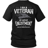 Oath of Enlistment Doesn't Expire T-shirt-Fresh Steals