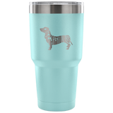 Dachshund Name Tumbler Tumblers-Fresh Steals