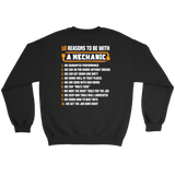 10 Reasons to be With a Mechanic T-shirt-Fresh Steals