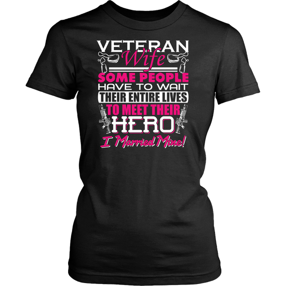 Veteran's Wife T-shirt-Fresh Steals
