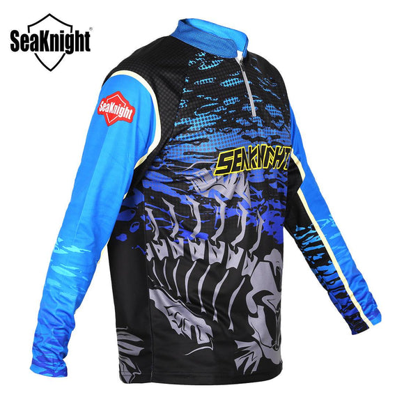 Men's SeaKnight Performance UPF 50 Long Sleeve Fishing Shirt fishing shirt-Fresh Steals