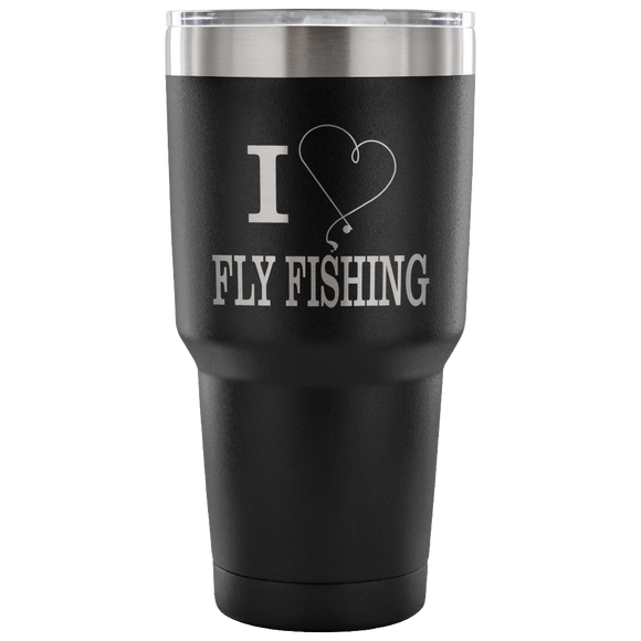 I love Fly Fishing Tumbler Tumblers-Fresh Steals