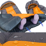 Wind Tour Thermal Adult Sleeping Bag Sleeping Bags-Fresh Steals