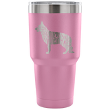 German Shepherd Name Tumbler Tumblers-Fresh Steals