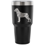 Rottweiler Name Tumbler Tumblers-Fresh Steals