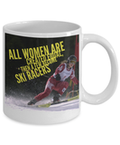 Women Ski Racer Mug Coffee Mug-Fresh Steals