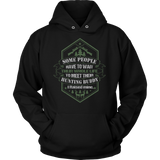 Raised My Hunting Buddy Unisex Hoodie by Fresh Steals
