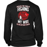 My Wife Is My Best Catch T-shirt-Fresh Steals